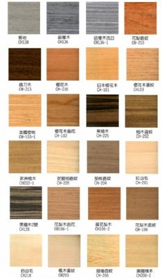 日通人造木皮热压板 |